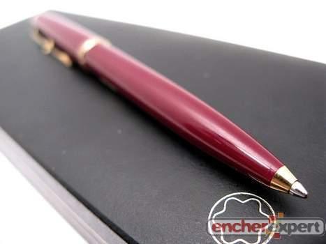 stylo a bille montblanc generation ballpoint pen authenticit garantie visible en boutique. Black Bedroom Furniture Sets. Home Design Ideas
