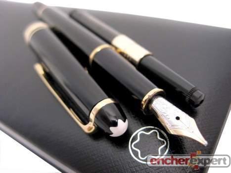 stylo plume mont blanc a pompe