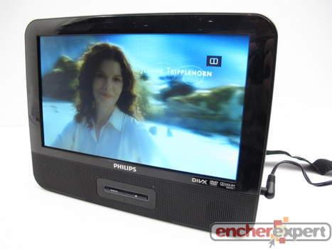 lecteur dvd portable philips pd9122 2 ecrans lcd authenticit garantie visible en boutique. Black Bedroom Furniture Sets. Home Design Ideas