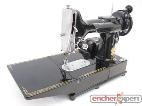 vintage machine a coudre electrique portative singer. Black Bedroom Furniture Sets. Home Design Ideas