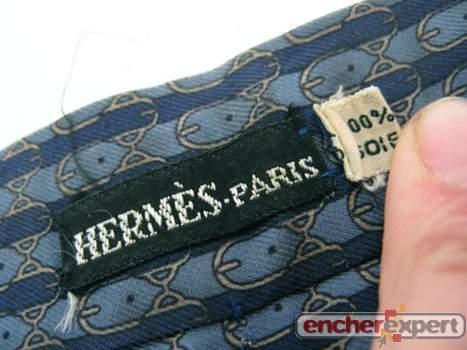 cravates hermes dépôt vente