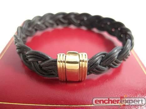 bracelet bry en or 18k 750 poils d elephant 12 4. Black Bedroom Furniture Sets. Home Design Ideas