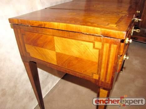 coiffeuse ancienne louis xvi directoire epoque authenticit garantie visible en boutique. Black Bedroom Furniture Sets. Home Design Ideas