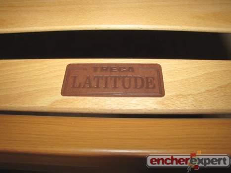 Lit 1 place treca latitude sommier a lattes matelas en bois 90x190 cm 4 pie - Sommier a latte 90x190 ...