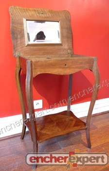 ancien meuble de couturiere table travailleuse a authenticit garantie visible en boutique. Black Bedroom Furniture Sets. Home Design Ideas