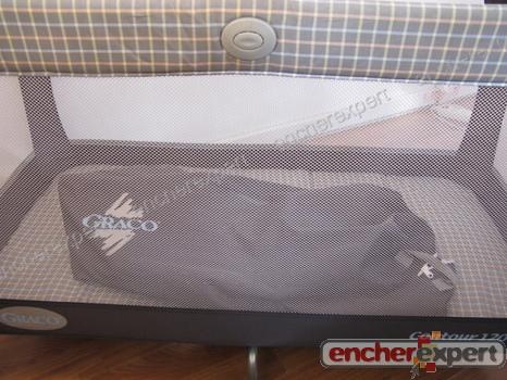 Lit bebe pliant parapluie graco contour 120 de authenticit garantie visible en boutique - Contour de lit bebe ...