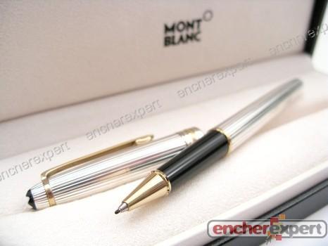 stylo montblanc argent massif