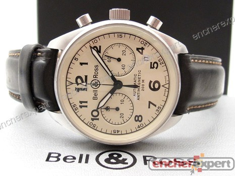 vintage montre bell ross 126 chronographe authenticit garantie visible en boutique. Black Bedroom Furniture Sets. Home Design Ideas