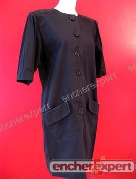 Robe yves saint laurent variation 42 xl blouse mi