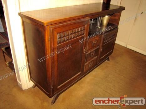 Buffet Ancien Meuble Style Henri Iv Bahut Authenticit