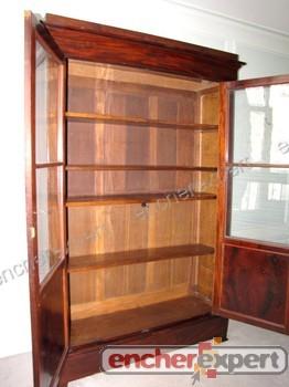 bibliotheque ancienne epoque louis philippe meuble authenticit garantie visible en boutique. Black Bedroom Furniture Sets. Home Design Ideas