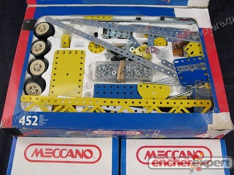 Ancien lot de pieces detachees meccano jeu de authenticit garantie visib - Pieces detachees meccano ...