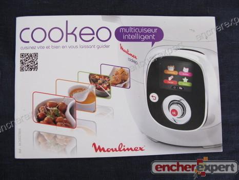 Robot de cuisine moulinex cookeo cuiseur 6l 5 authenticit garantie visible en boutique - Cookeo mode d emploi ...