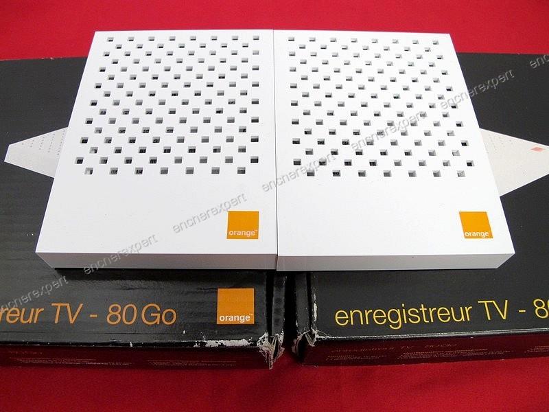 lot de 2 enregistreurs numeriques orange tv authenticit. Black Bedroom Furniture Sets. Home Design Ideas