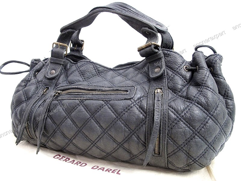 Sac a main gerard darel saint germain 36h en cuir - Authenticité garantie -  Visible en boutique 097e643ff636