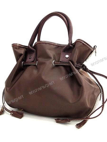 sac lancel toile cuir