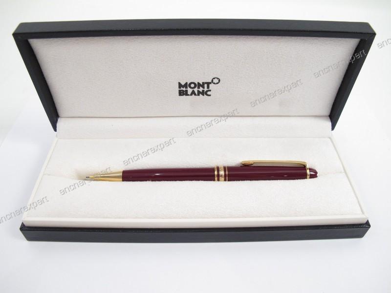 stylo montblanc couleur bordeaux