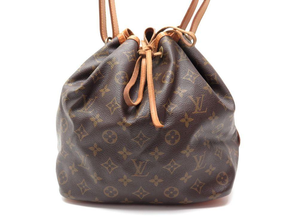 af753f728e9 Vintage sac a main LOUIS VUITTON seau petit noe nm - Authenticité garantie  - Visible en boutique