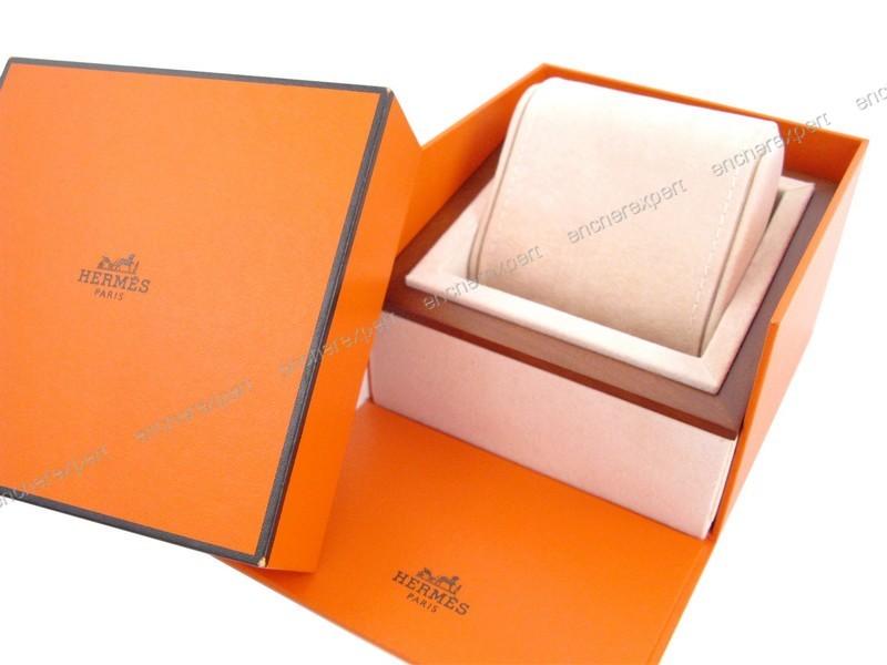 boite hermes pour montre kelly cap code arceau h authenticit garantie visible en boutique. Black Bedroom Furniture Sets. Home Design Ideas