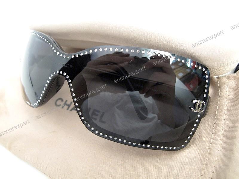Lunettes de soleil CHANEL 5065 b small masque - Authenticité ... 01c4090151d7