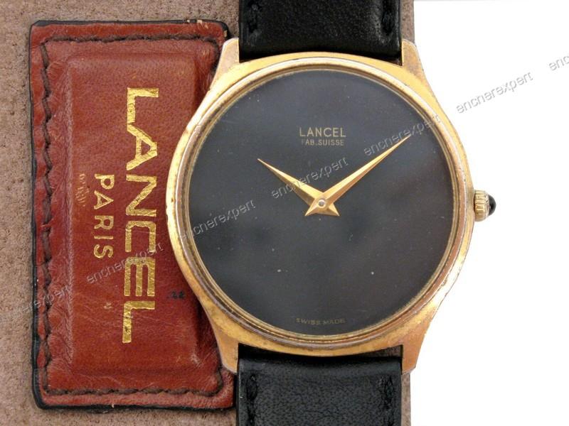 remise chaude belle couleur prix de la rue Vintage montre lancel 32 mm mecanique manuel - Authenticité ...