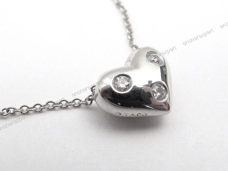 collier pendentif tiffany co etoile heart coeur authenticit garantie visible en boutique. Black Bedroom Furniture Sets. Home Design Ideas