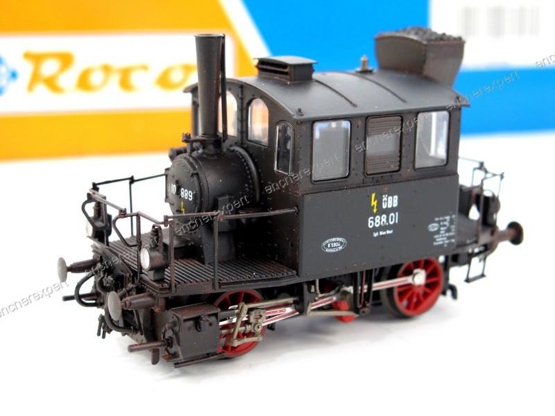 locomotive vapeur ho roco br 688 01 43258 train authenticit garantie visible en boutique. Black Bedroom Furniture Sets. Home Design Ideas