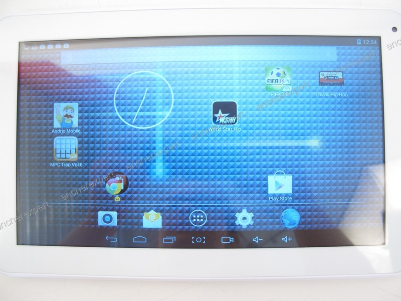 tablette pc ecran tactile polaroid 10 1 mid2410. Black Bedroom Furniture Sets. Home Design Ideas