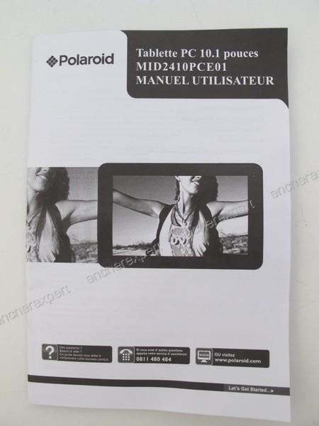 tablette pc ecran tactile polaroid 10 1 mid2410 authenticit garantie visible en boutique. Black Bedroom Furniture Sets. Home Design Ideas