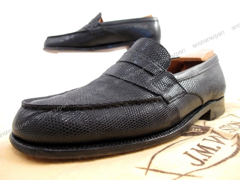 Chaussures jm weston 180 mocassins 5b 39 cuir - Authenticité ... 3b28d80c390