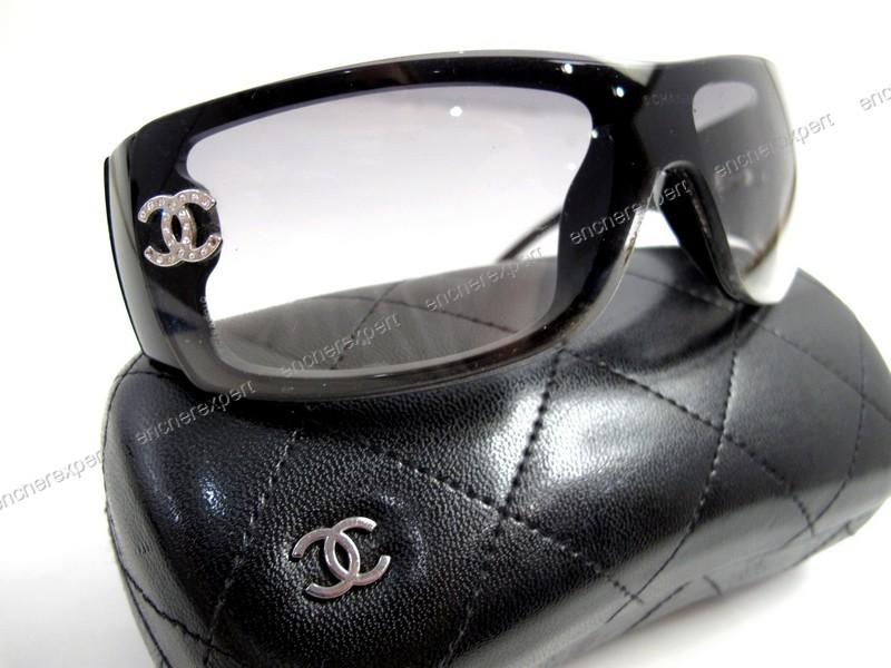 Lunettes de soleil CHANEL masque 5088 b double cc - Authenticité garantie -  Visible en boutique 0574783a9d50