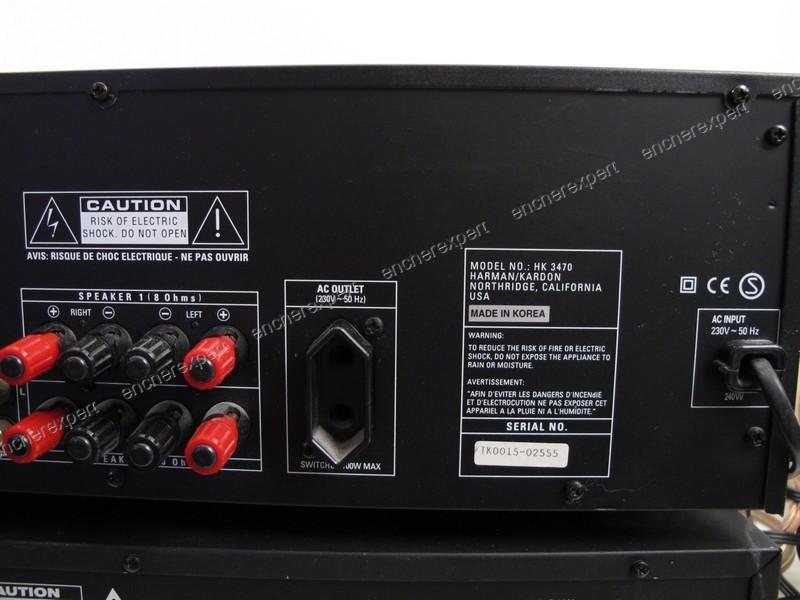 chaine hifi ampli cd harman kardon hk3470 fl8380. Black Bedroom Furniture Sets. Home Design Ideas