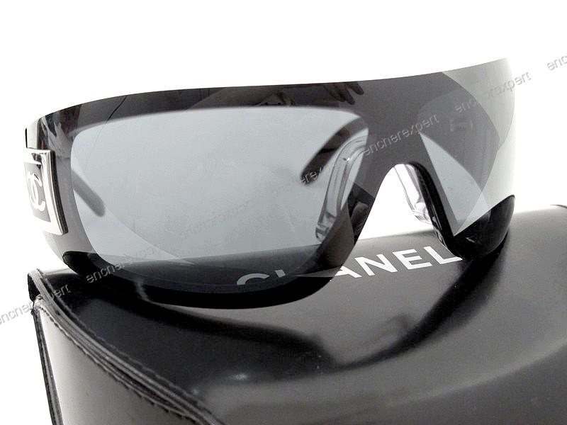 95190d04ca5151 Lunettes de soleil CHANEL 5085 c.501 87 masque - Authenticité garantie -  Visible en boutique