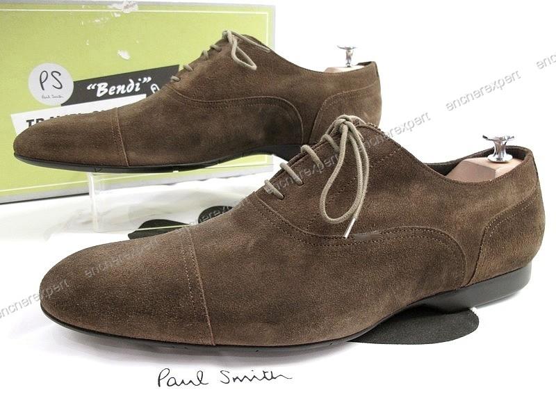 chaussure en daim paul smith. Black Bedroom Furniture Sets. Home Design Ideas