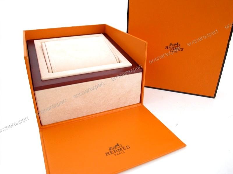 vintage ancienne boite pour montre hermes authenticit garantie visible en boutique. Black Bedroom Furniture Sets. Home Design Ideas
