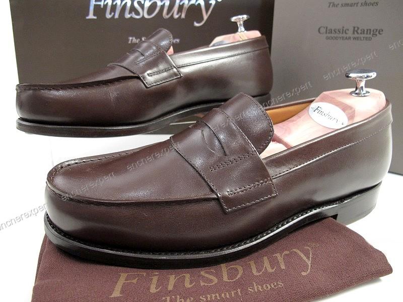 Chaussures Finsbury Cuir College 40 Authenticité Neuf Mocassins JclFK1