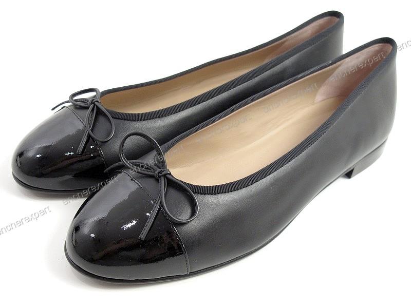 bdd0a0a931f8 Neuf chaussures CHANEL uniform ballerines c 39.5 - Authenticité garantie -  Visible en boutique