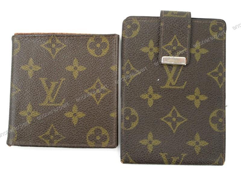 Vintage porte chequier cartes louis vuitton authenticit garantie visible en boutique - Porte chequier louis vuitton ...