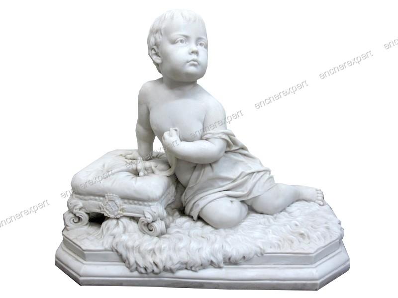 Sculpture du xixe francis williamson royal - Authenticité ...