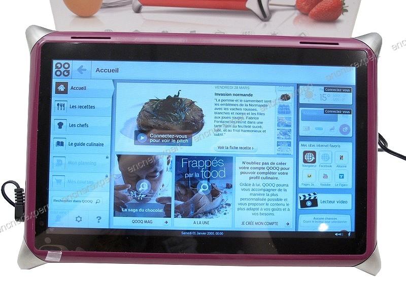 Neuf tablette tactile qooq digital cuisine 10 lcd authenticit garantie visible en boutique - Tablette tactile cuisine ...