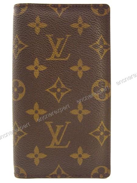 Neuf porte chequier louis vuitton portefeuille authenticit garantie visible en boutique - Porte chequier louis vuitton ...