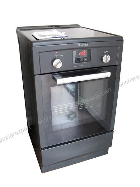 fdb4dcace3a6bb Cuisiniere induction brandt ki1250a 3 feux four - Authenticité garantie -  Visible en boutique