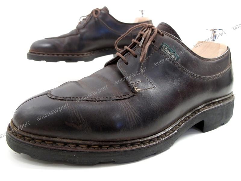 Chaussures paraboot avignon derby 8 42 cuir gras