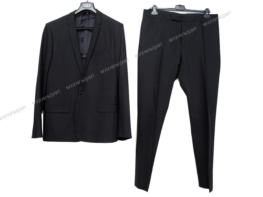 2f0700d8a713 Costume veste pantalon christian DIOR homme 50 - Authenticité garantie -  Visible en boutique