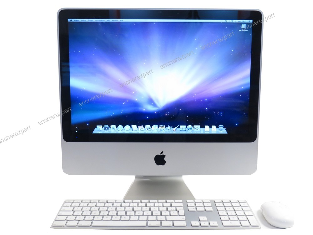 pc fixe ordinateur apple imac a1224 20 ghz. Black Bedroom Furniture Sets. Home Design Ideas