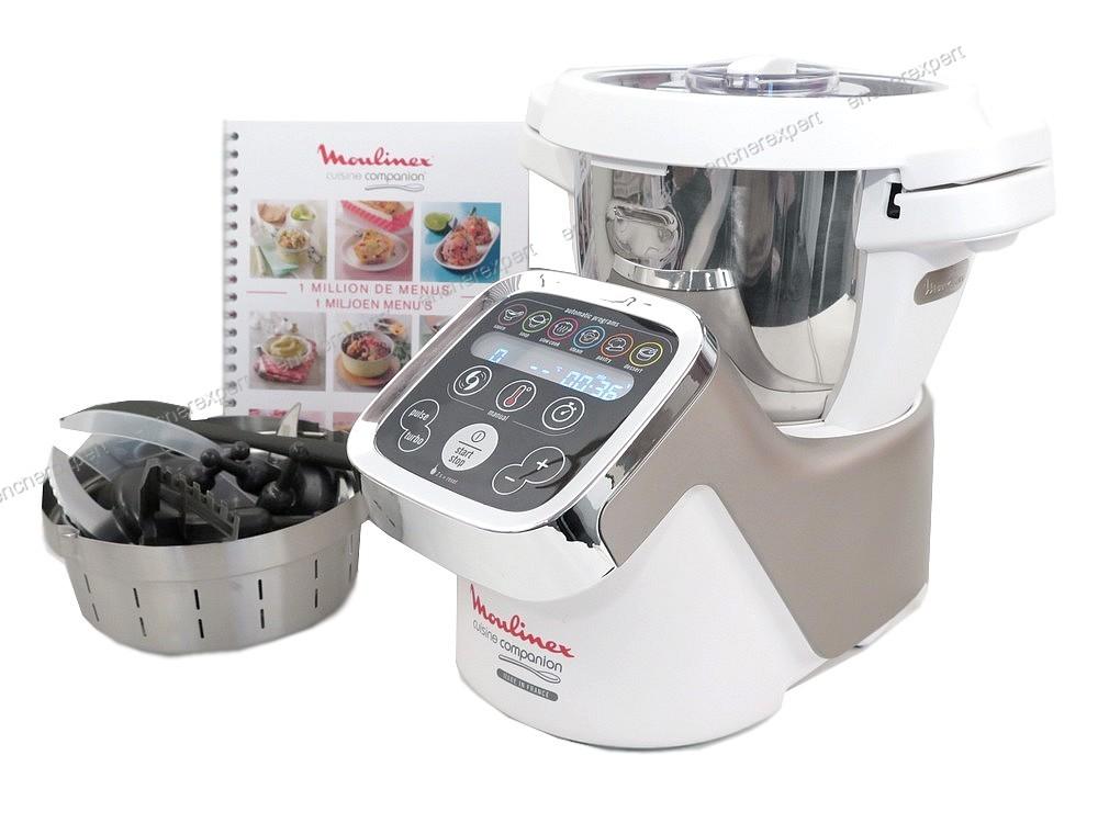 Neuf robot cuiseur multifonction moulinex cuisine for Robot cuisine multifonction moulinex