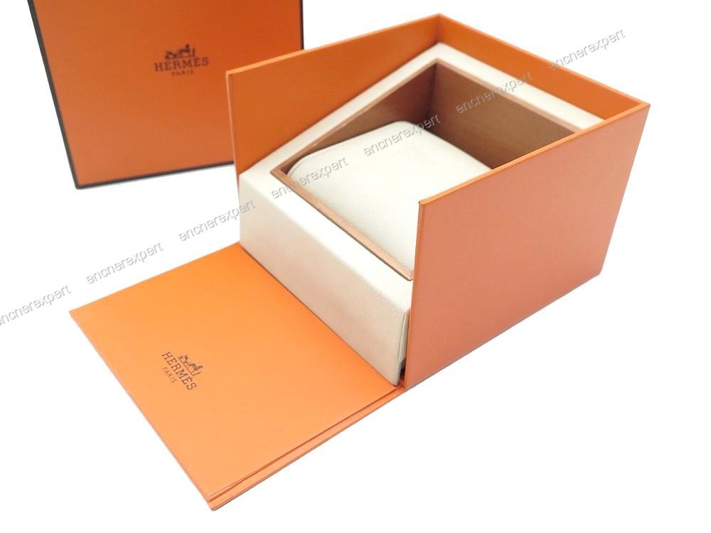 vintage ancienne boite de collection hermes montre authenticit garantie visible en boutique. Black Bedroom Furniture Sets. Home Design Ideas