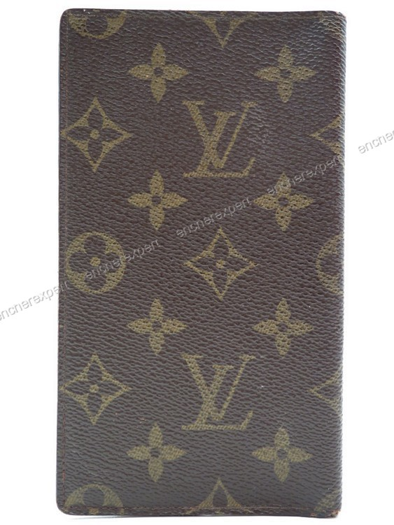 Vintage porte chequier louis vuitton monogram authenticit garantie visible en boutique - Porte chequier louis vuitton ...