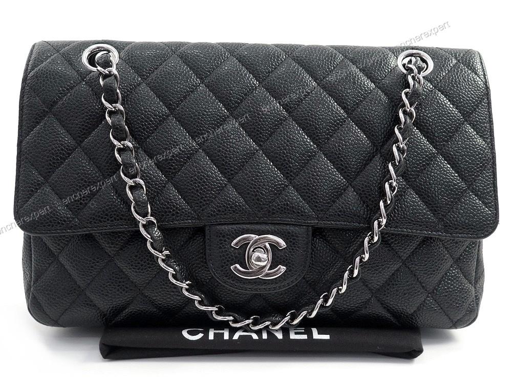 neuf sac a main chanel timeless pm 25 cm cuir authenticit garantie visible en boutique. Black Bedroom Furniture Sets. Home Design Ideas