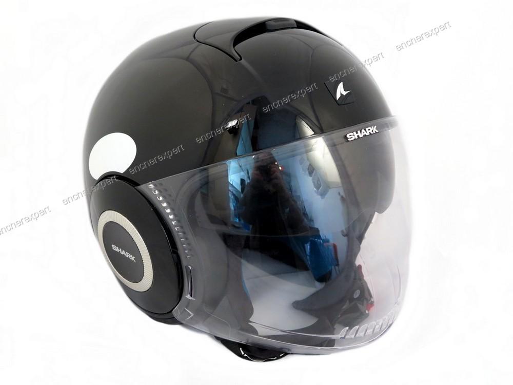 neuf casque de moto scooter jet shark nano taille authenticit garantie visible en boutique. Black Bedroom Furniture Sets. Home Design Ideas